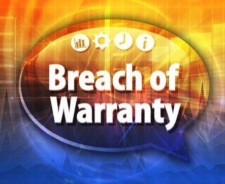 Breach of Warranty